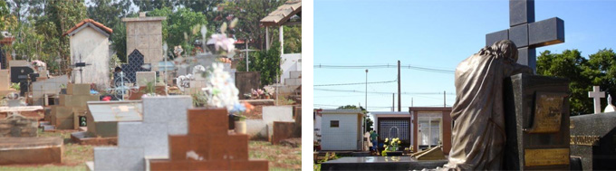 Cemitério Santo Amaro Campo Grande Ms