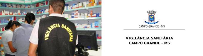 Vigilância Sanitária Campo Grande MS